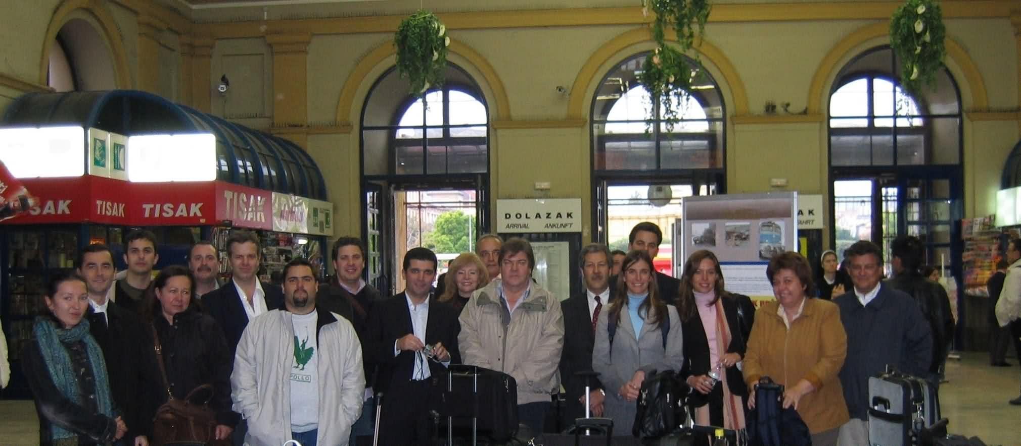 2004 Misión Comercial a Austria, Croacia, Eslovenia y Eslovaquia