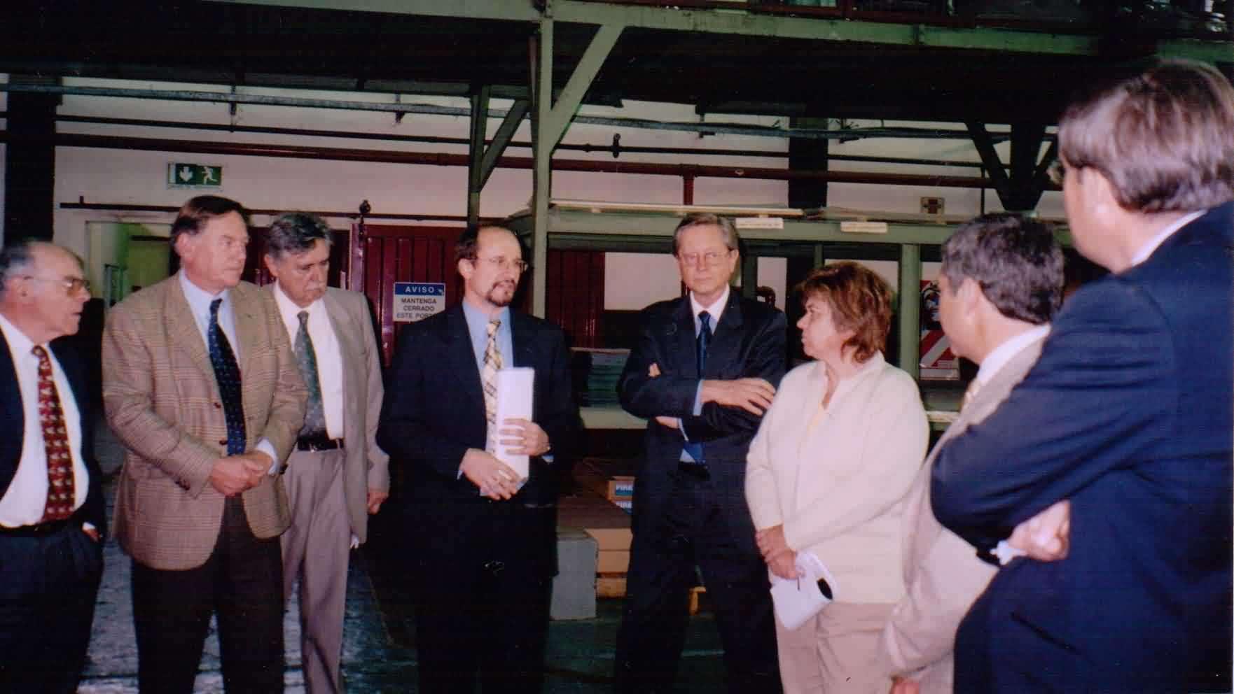 2005-10 Visita a la empresa Rich Klinger en Garín