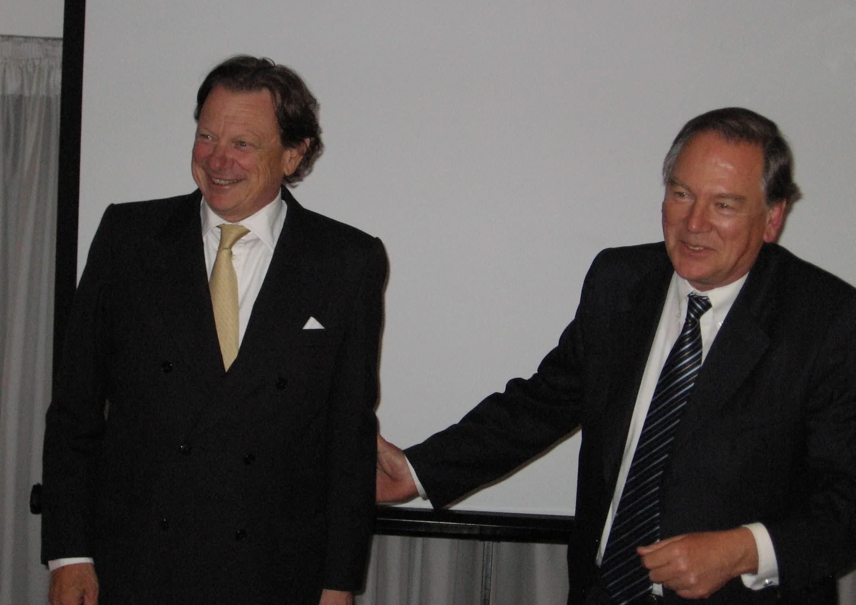 2008-10 cambio de presidencia Despedida de Marcos Pejacsevich y Bienvenida de Federico Kade
