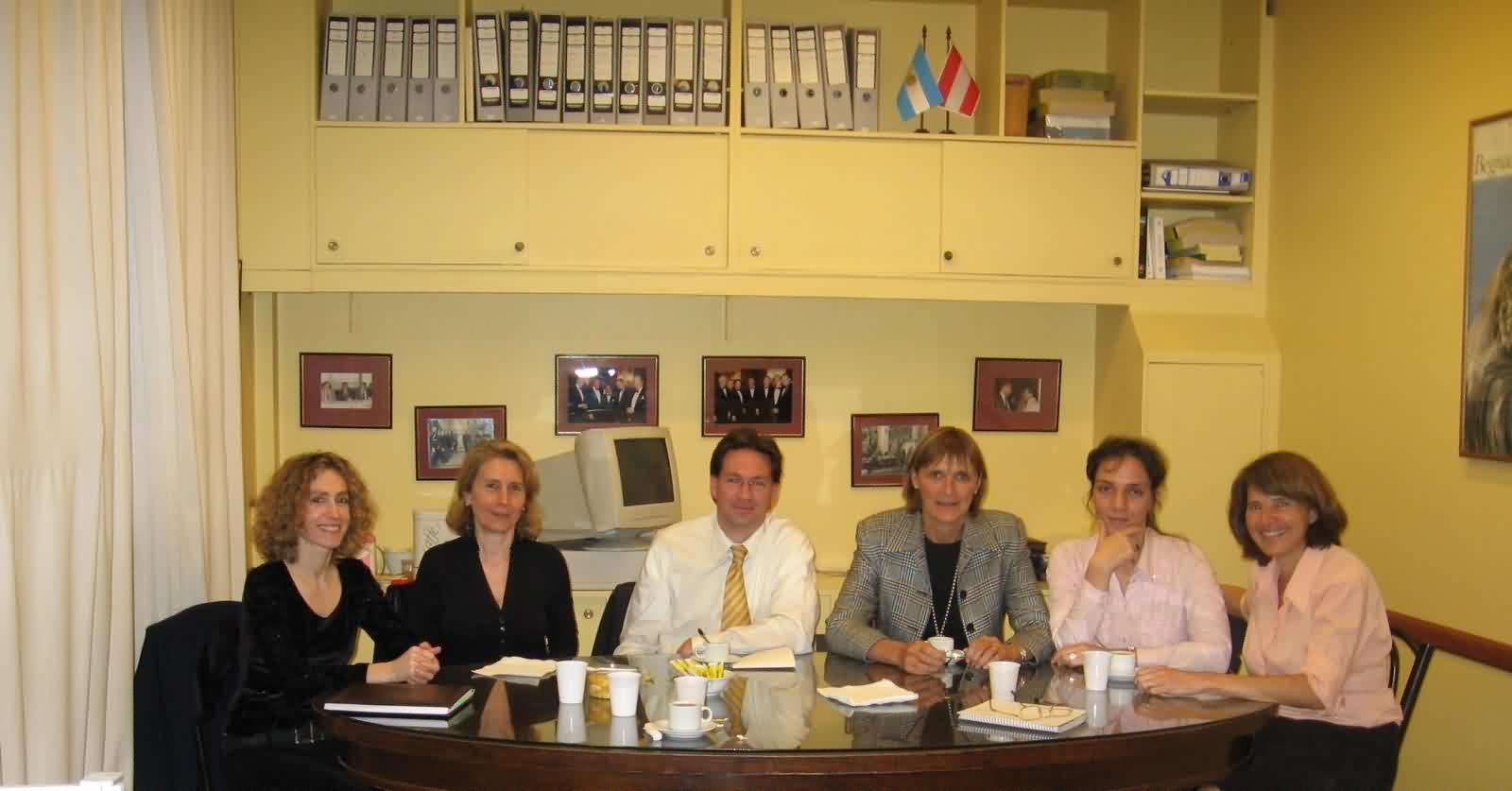 2010 Reunión de gerentes de Intercámaras en la sede de la CCAA